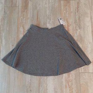 NWT grey skater skirt xs